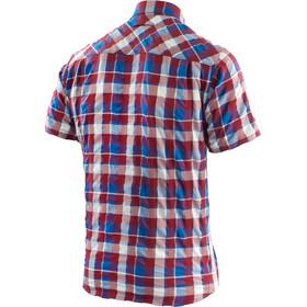 Löffler KA Camisa de Trekking Hombre, maroon